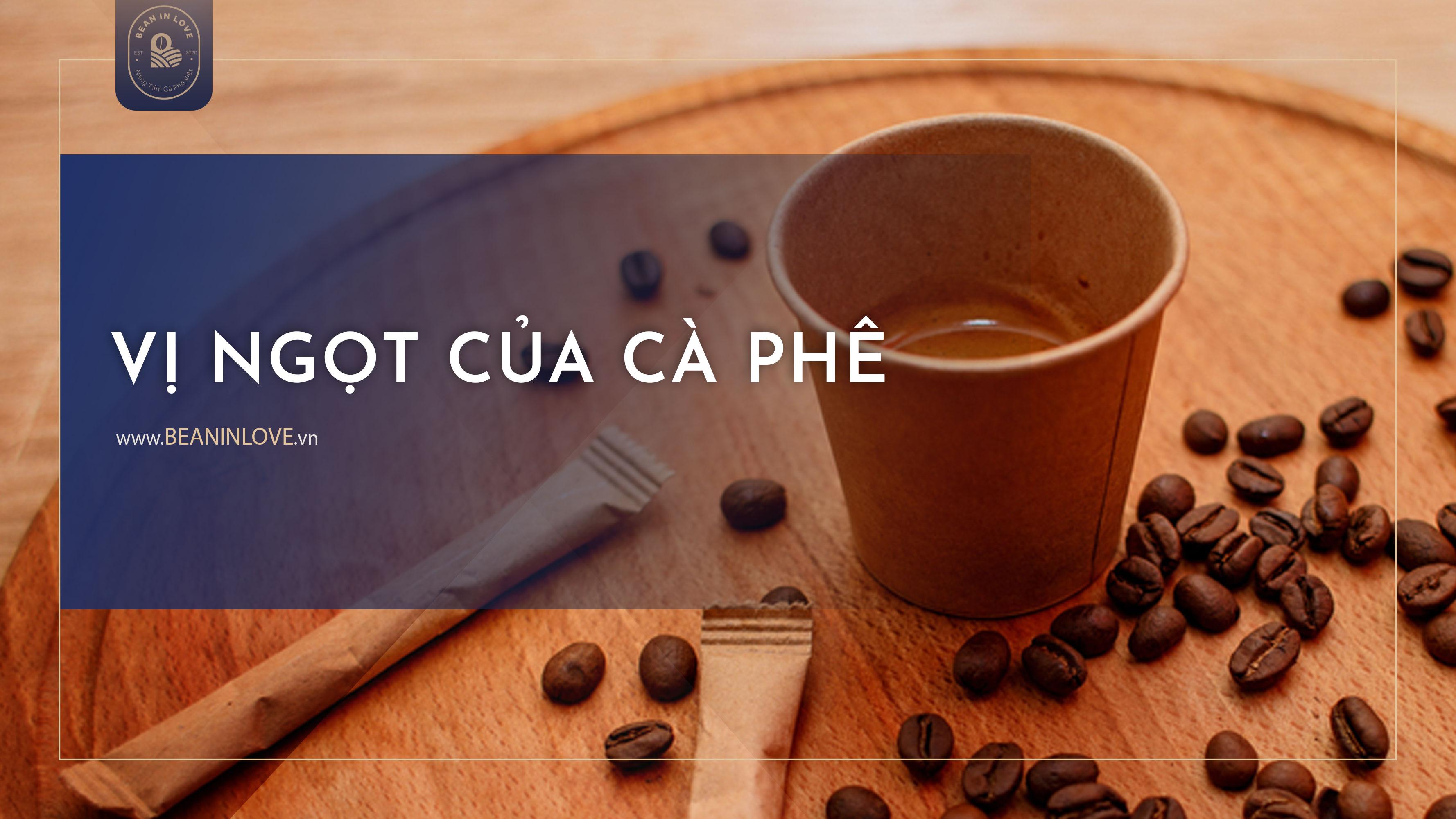 Vị ngọt của cà phê
