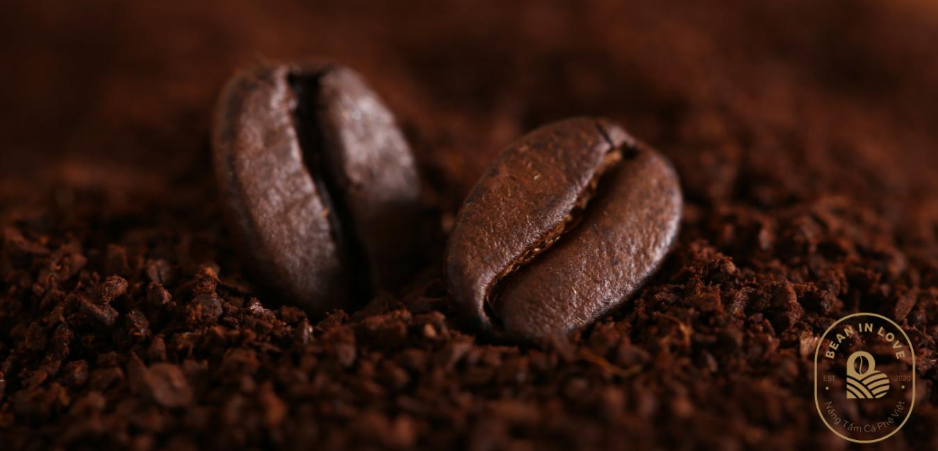 Hình hạt cà phê rang